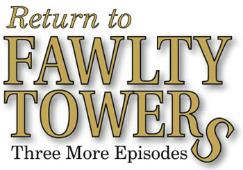 Return to Fawlty Towers show logo