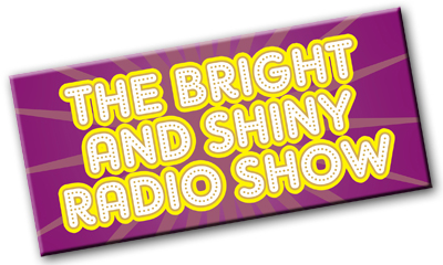 Bright and Shiny radio show logo